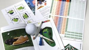 Golf Druckartikel