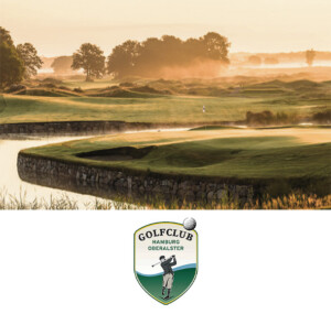 Logo und bild vom Golfclub Hamburg Oberster